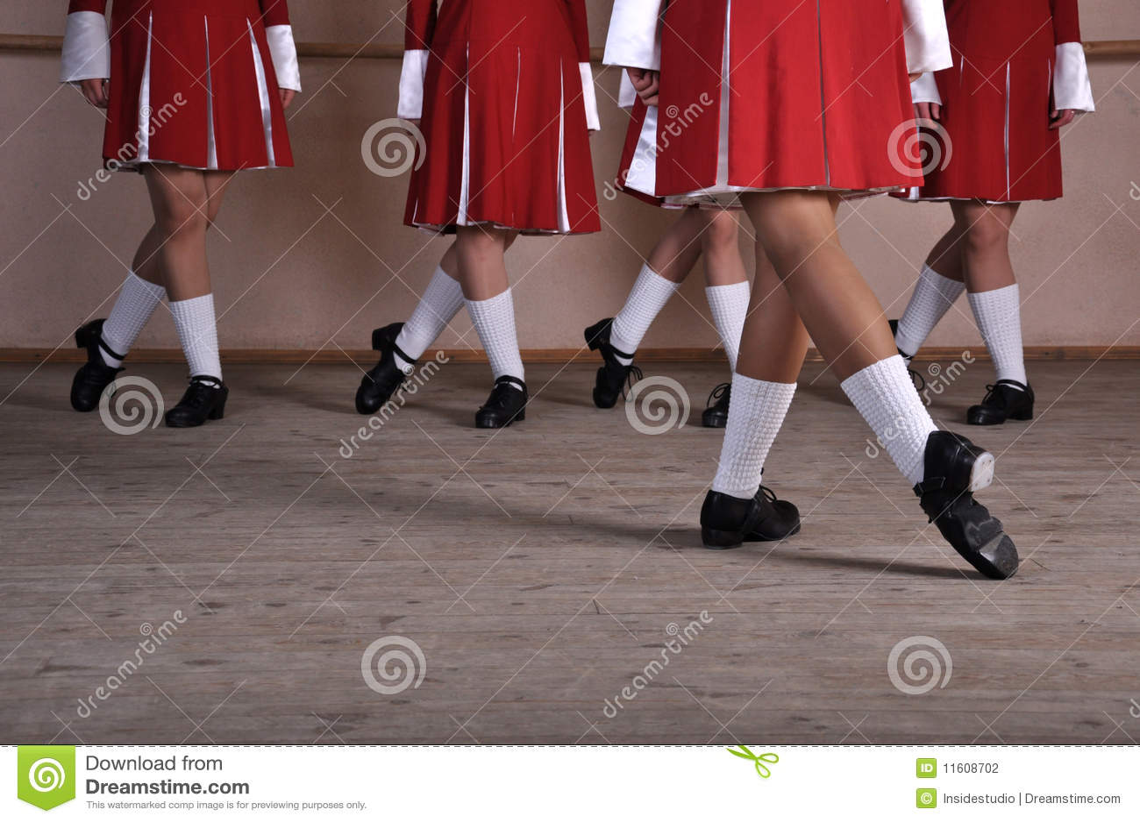 爱尔兰语舞蹈演员的英尺
