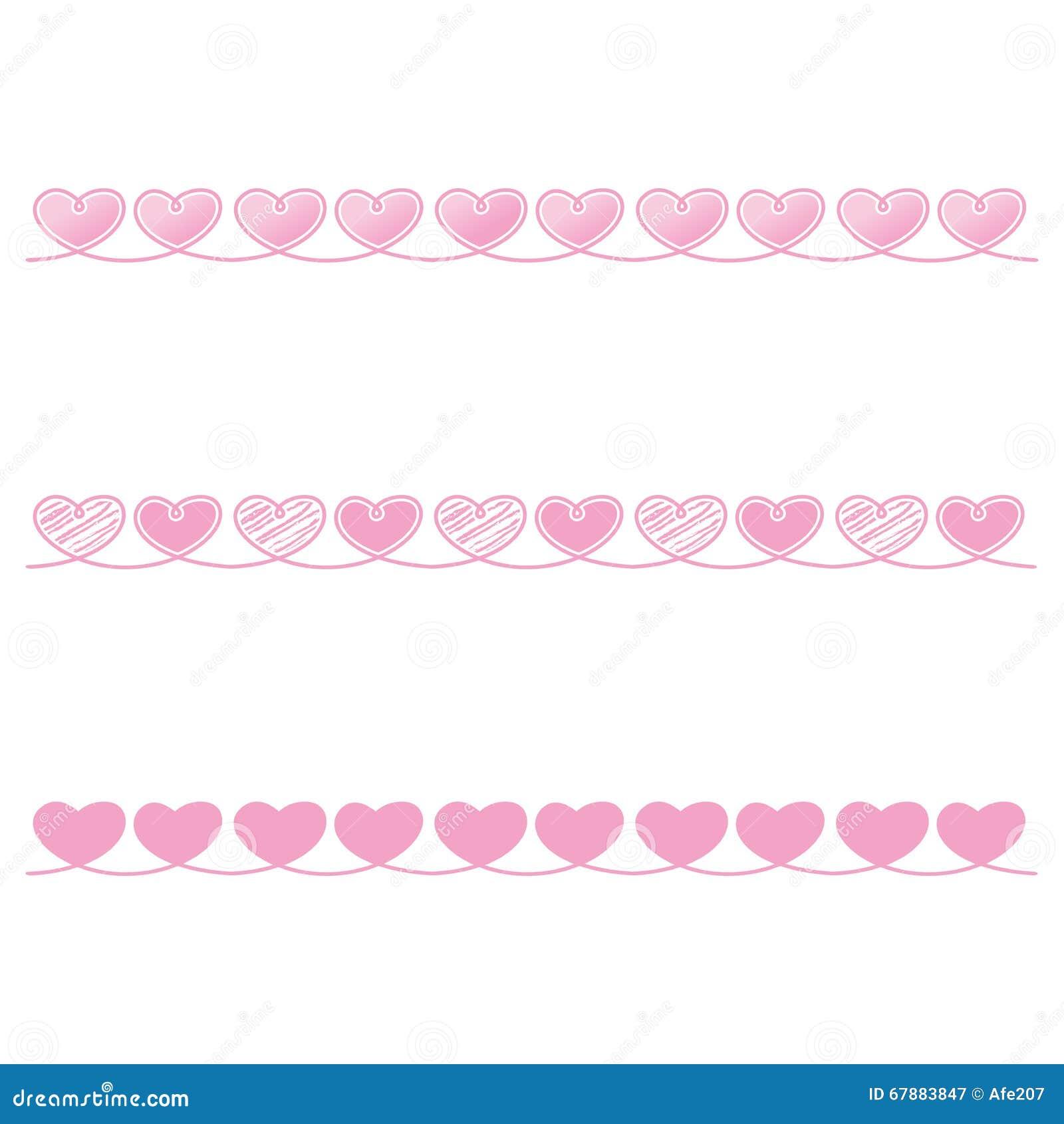 爱心脏丝带绳索装饰启发想法情人节