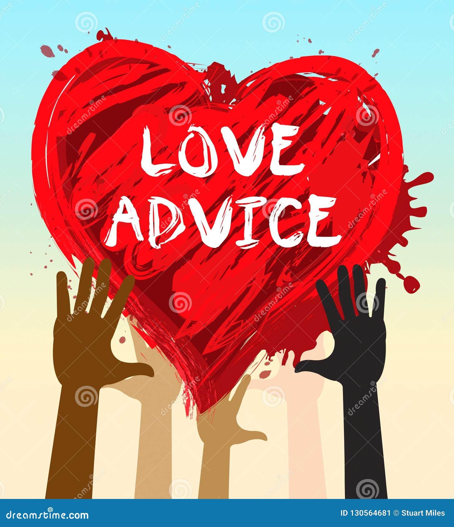 爱忠告手段婚姻教导3d例证