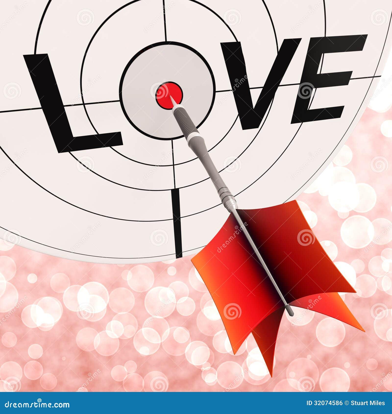 爱显示在恋人和夫妇之间的承诺