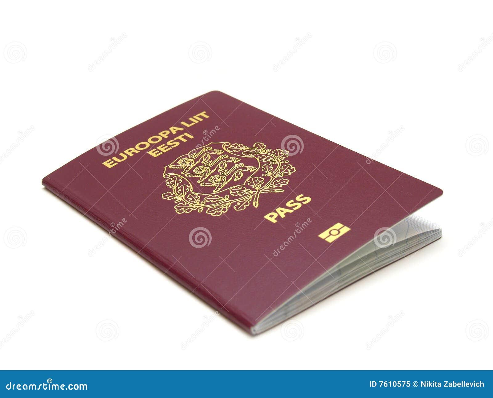 爱沙尼亚语护照