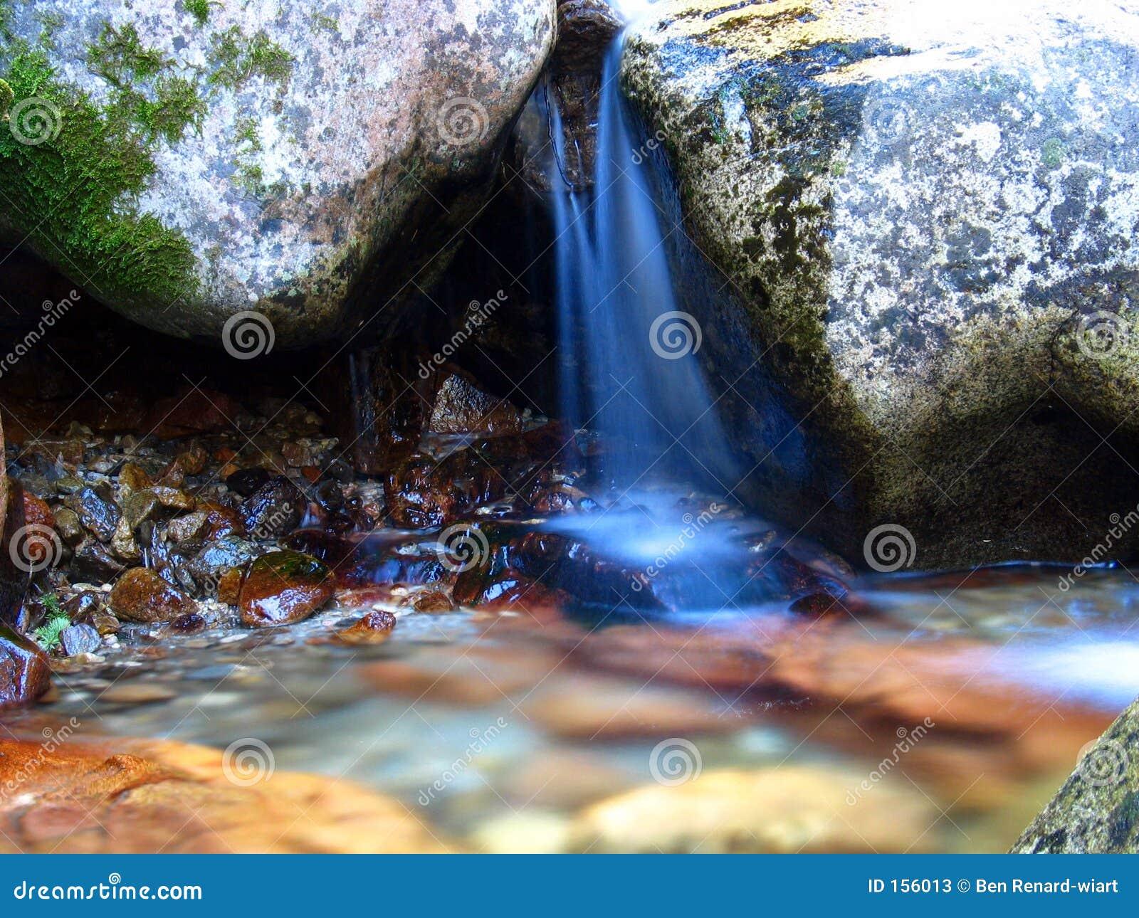 爱达荷小的美国瀑布