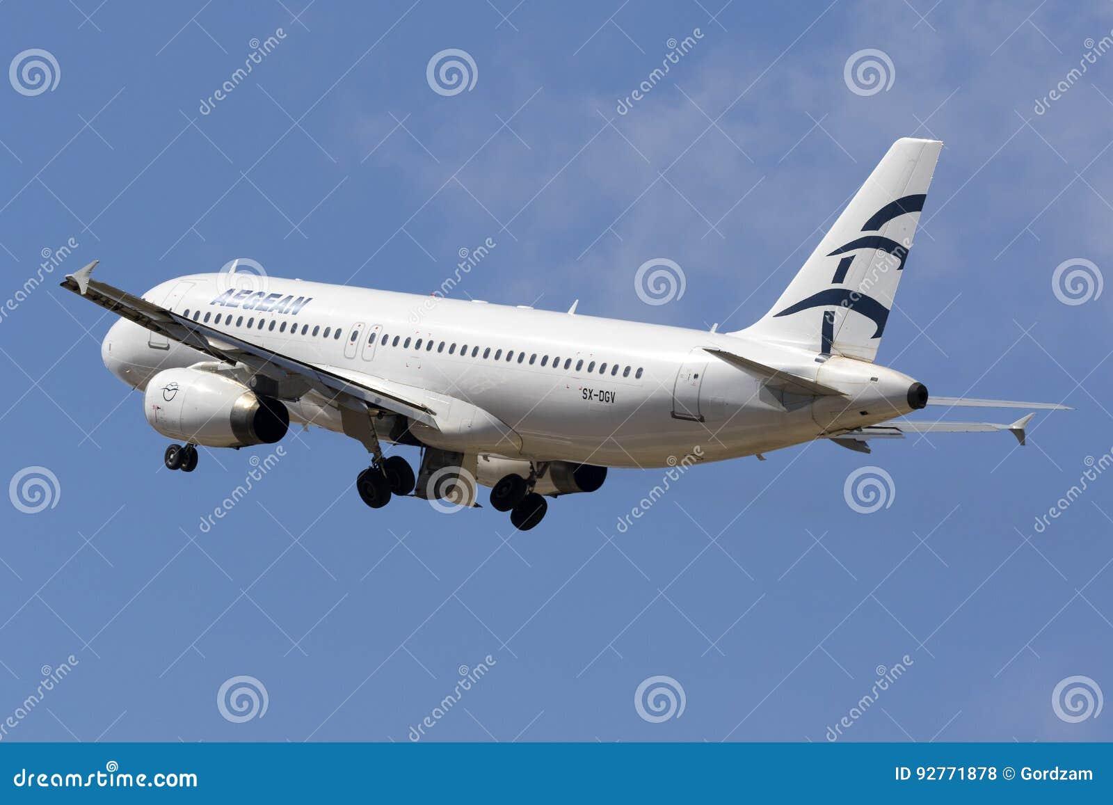 爱琴海A320离开