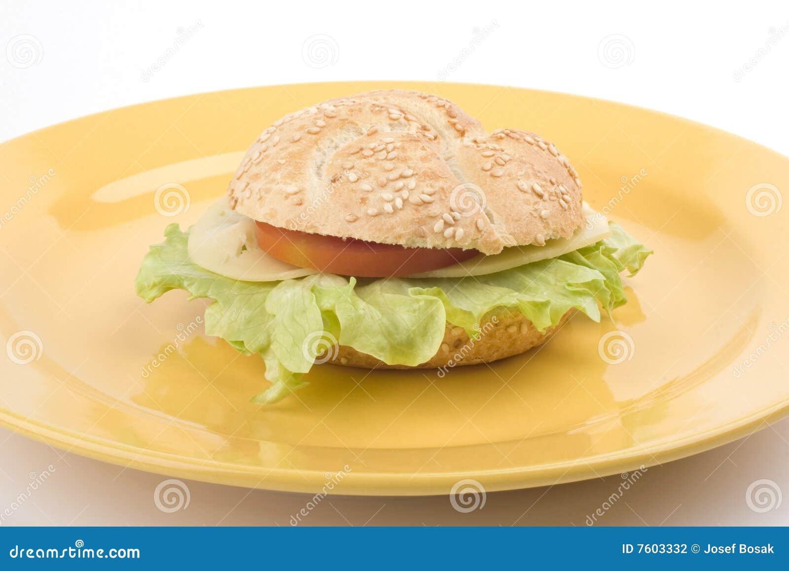 牌照三明治