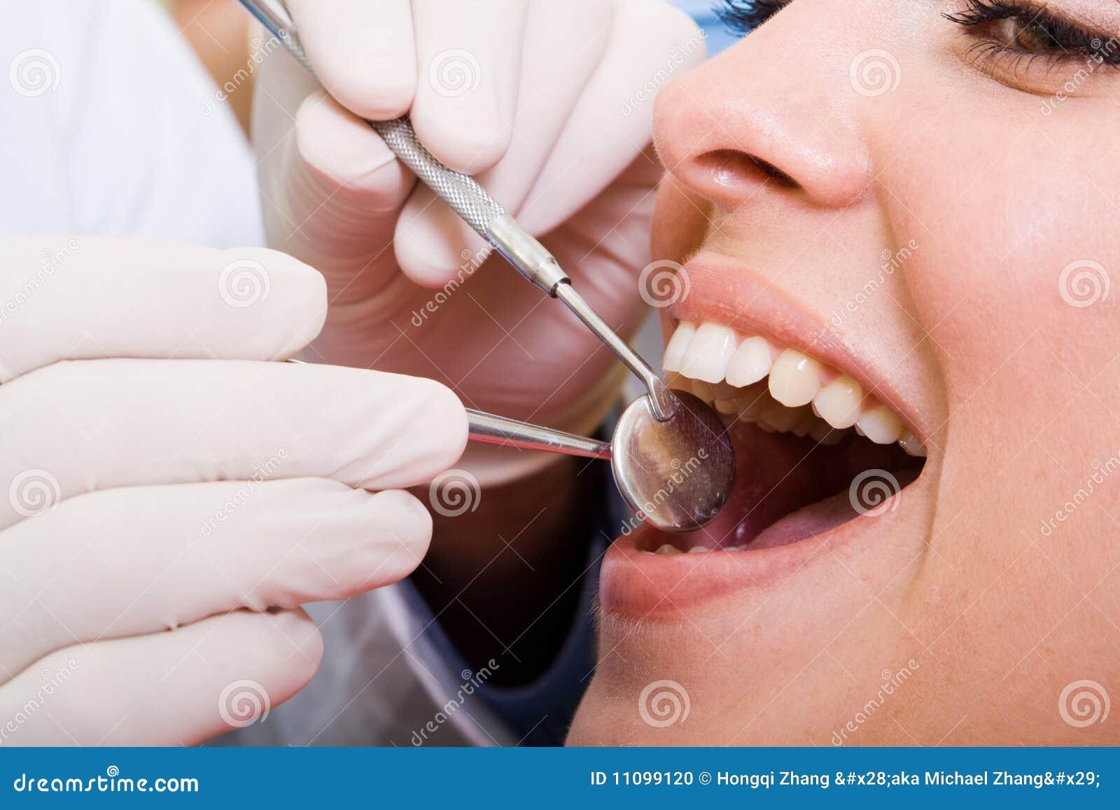 牙齿的核对