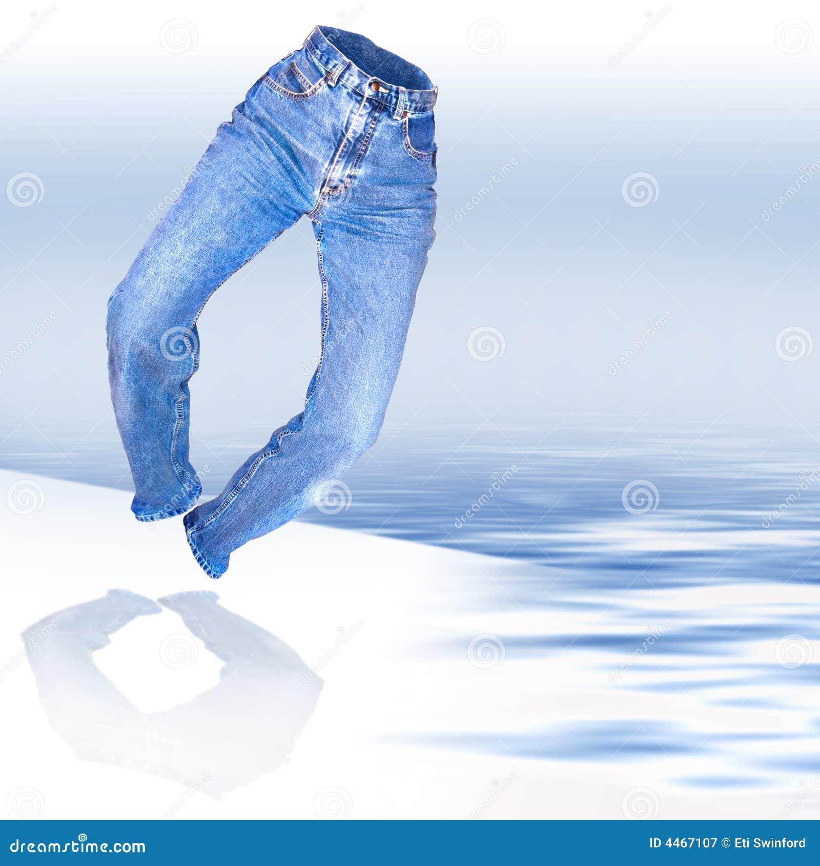 牛仔布牛仔裤