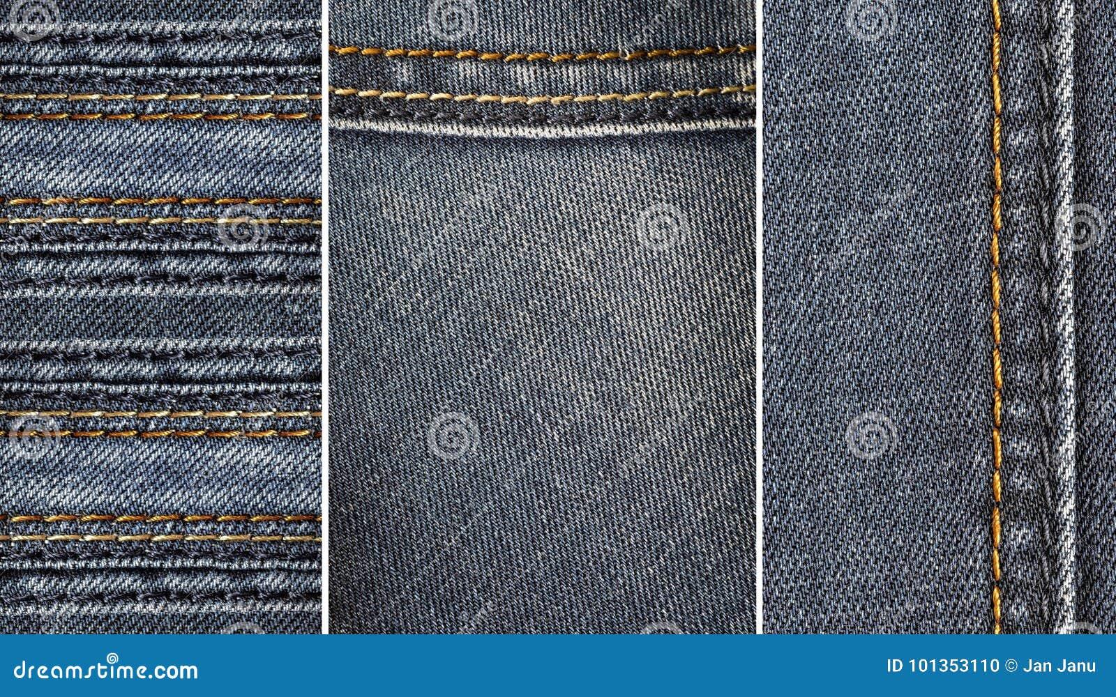 牛仔裤织品