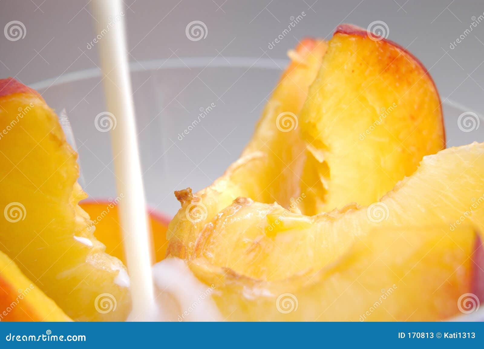 牛奶桃子片式