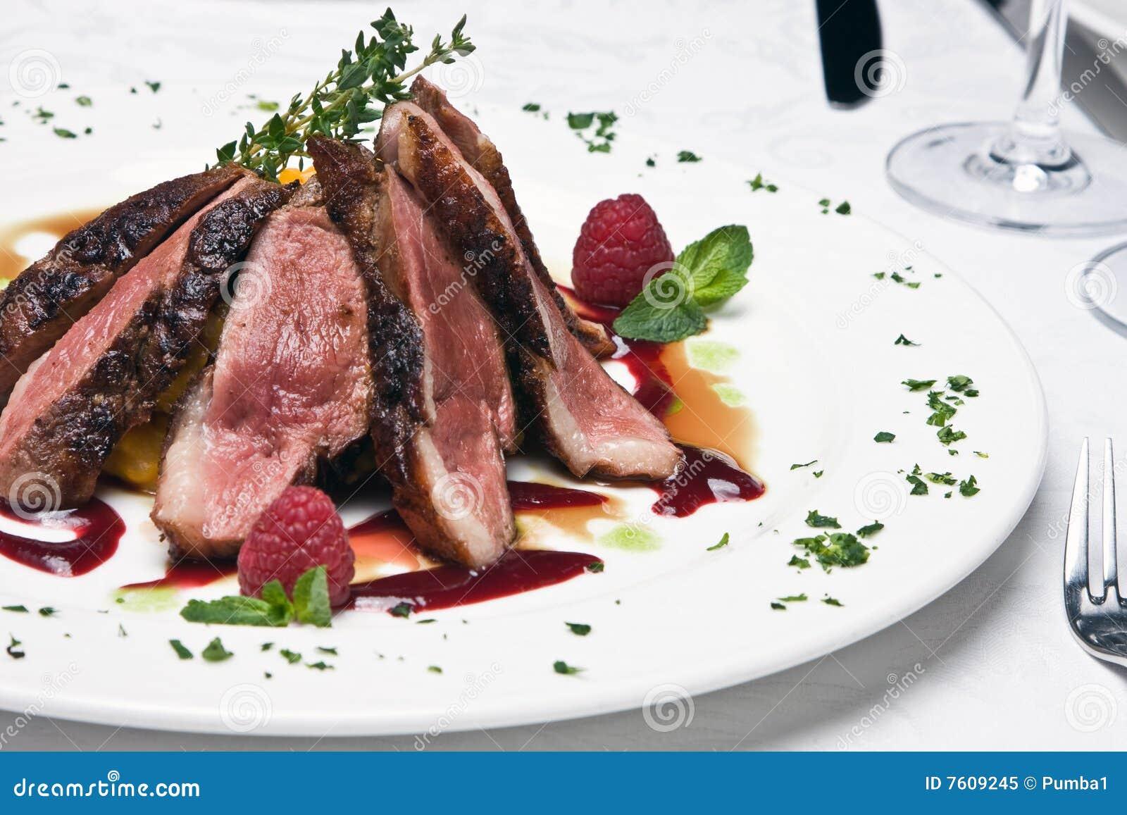 牛肉盘肉片式