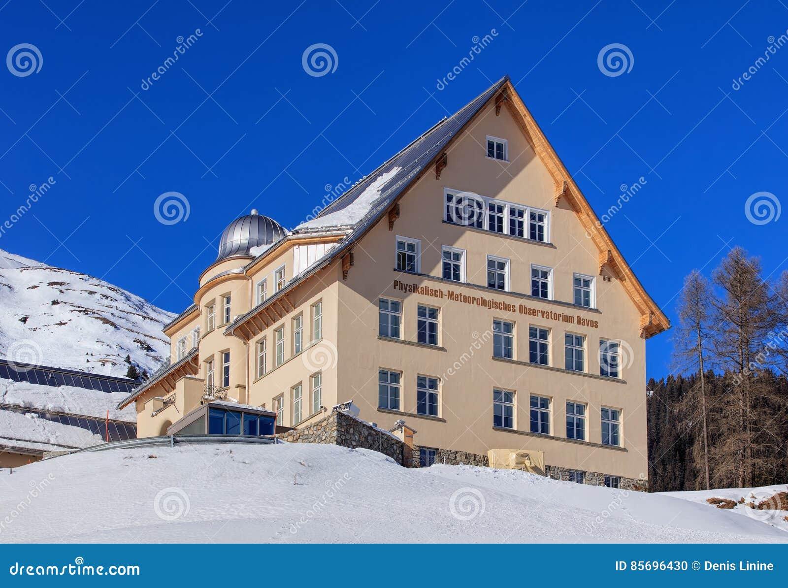 物理气象观测所在达沃斯,瑞士