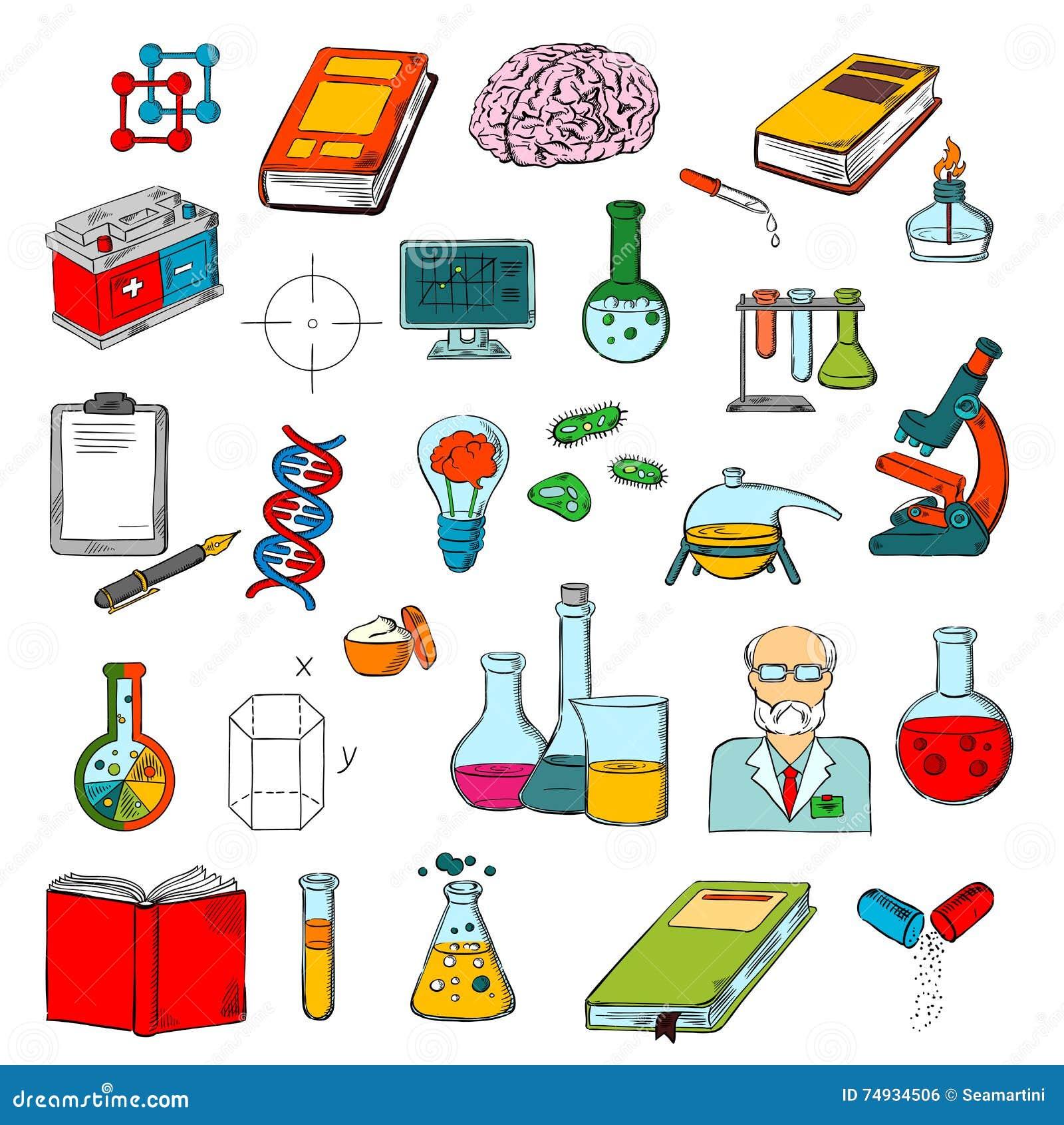 物理,化学,医学科学研究象