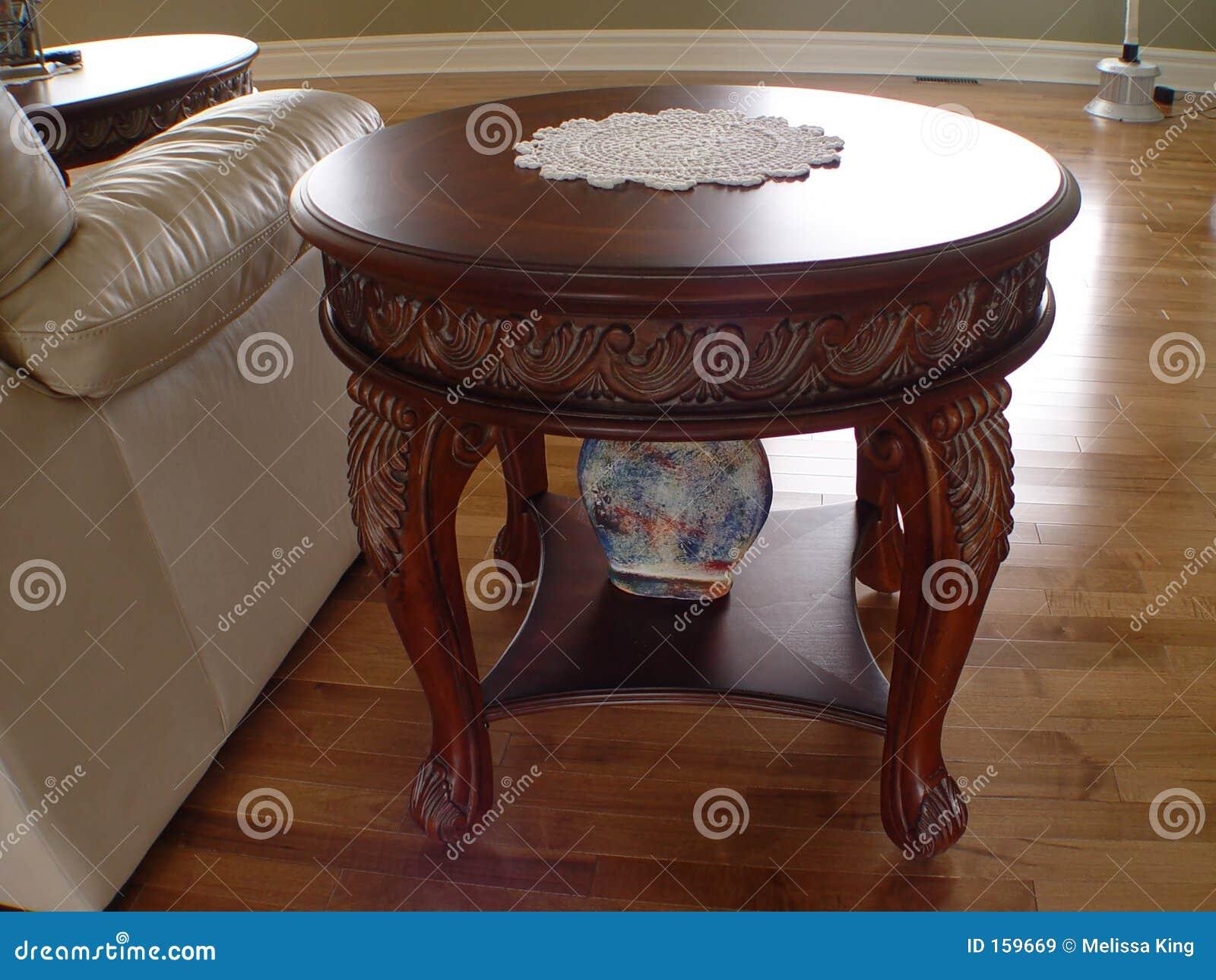 特写镜头咖啡桌