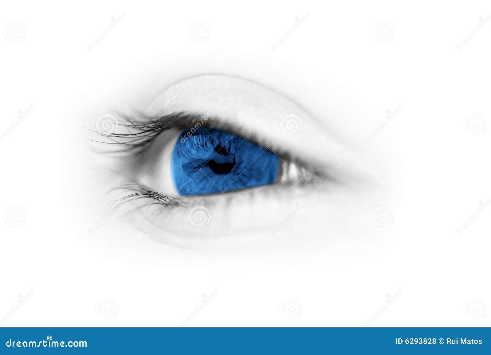 特写镜头眼睛