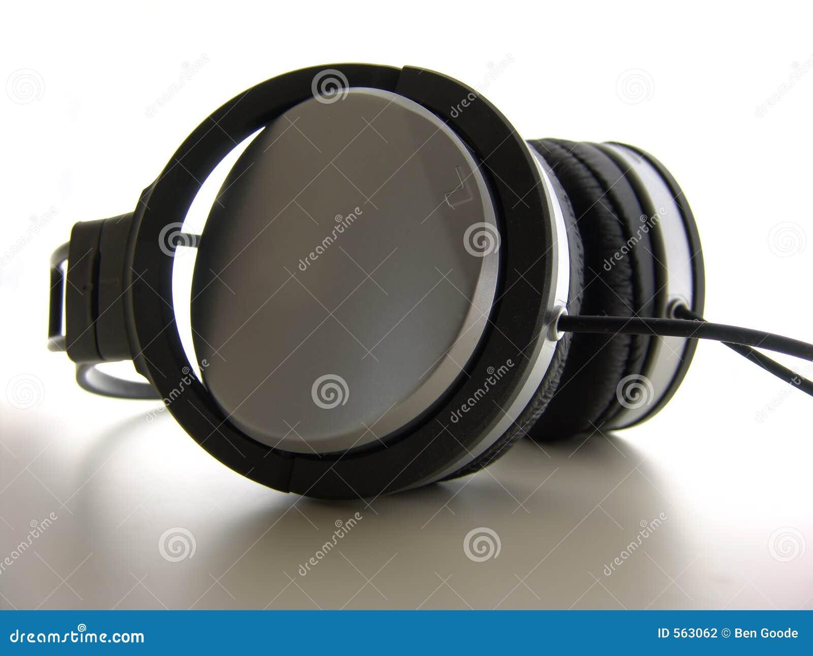 特写镜头耳机