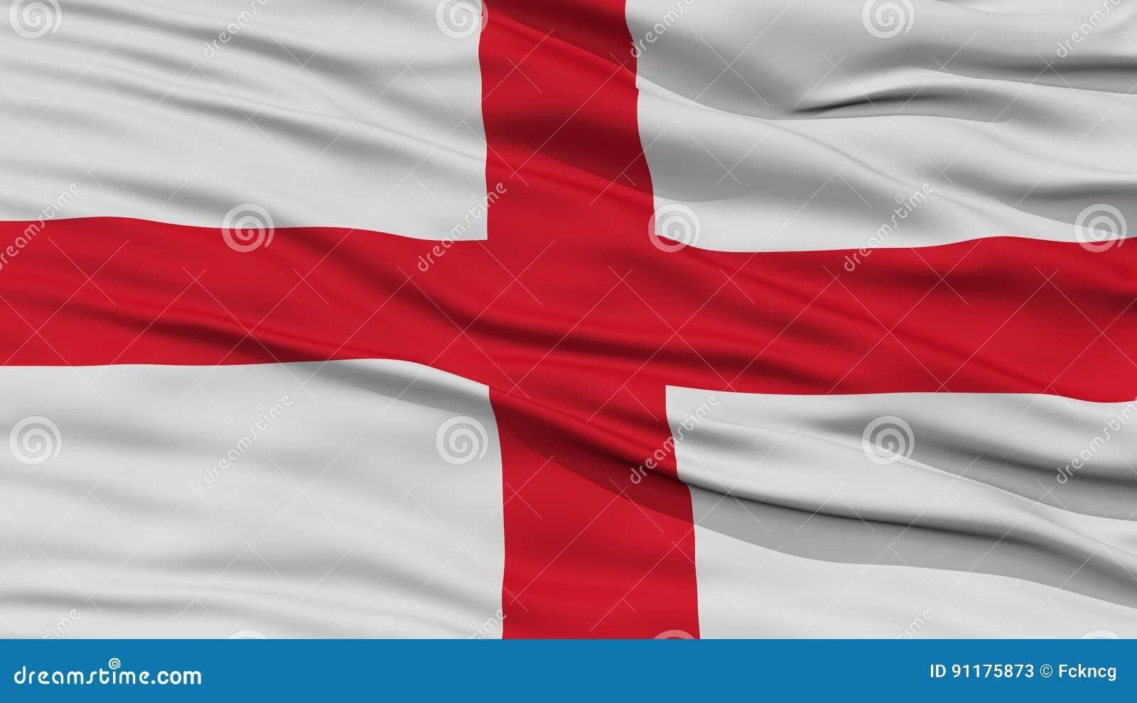 特写镜头英国旗子