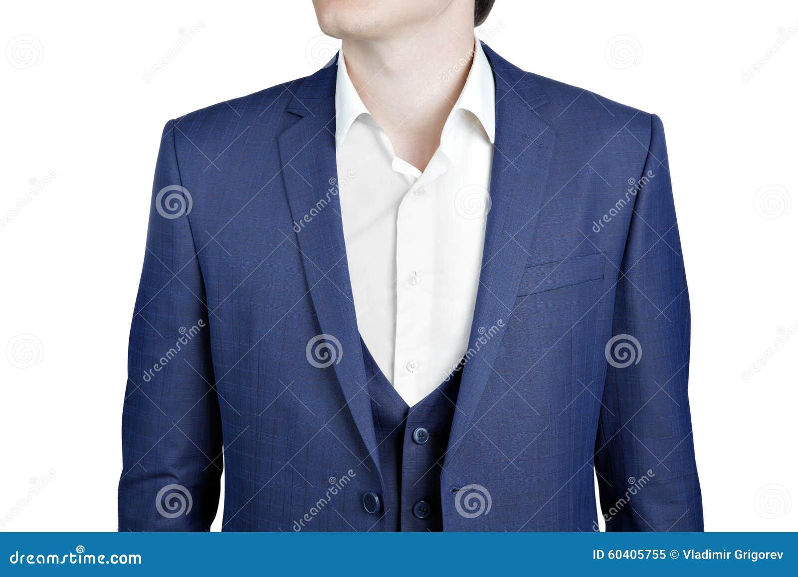 特写镜头藏青色衣服在人的舞会之夜