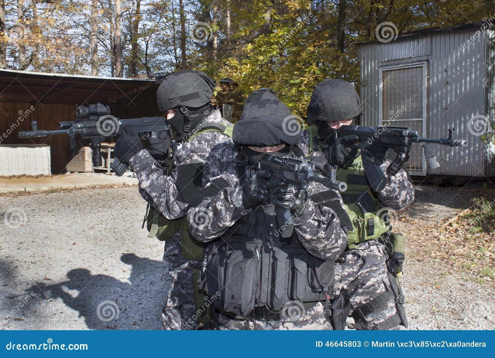 特别反暴力恐怖份子的小队