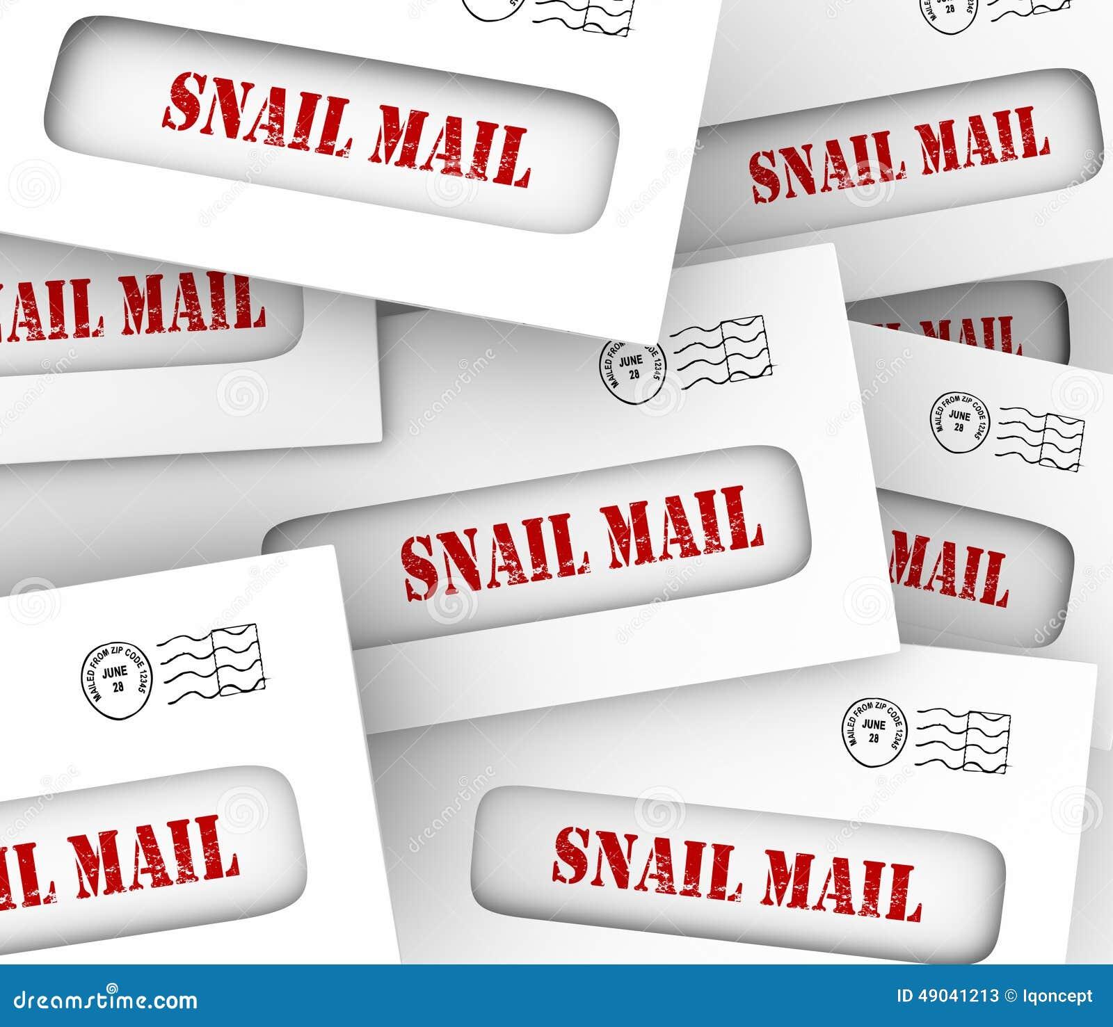 特慢邮件包围效率低的慢古板的消息熟食店