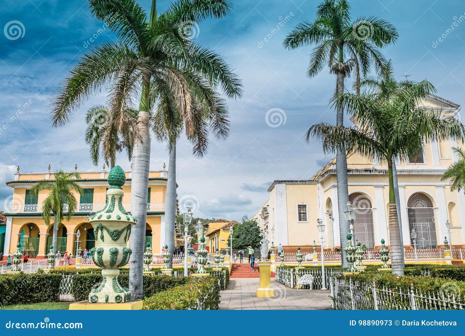 特立尼达,古巴- 2017年5月06日