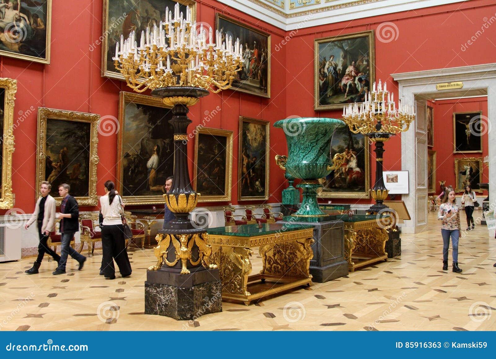状态埃尔米塔日博物馆在圣彼德堡