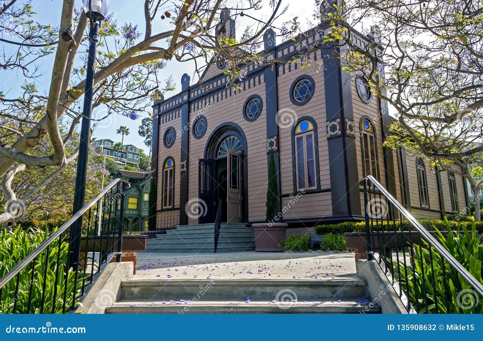 犹太教堂的看法在圣迭戈