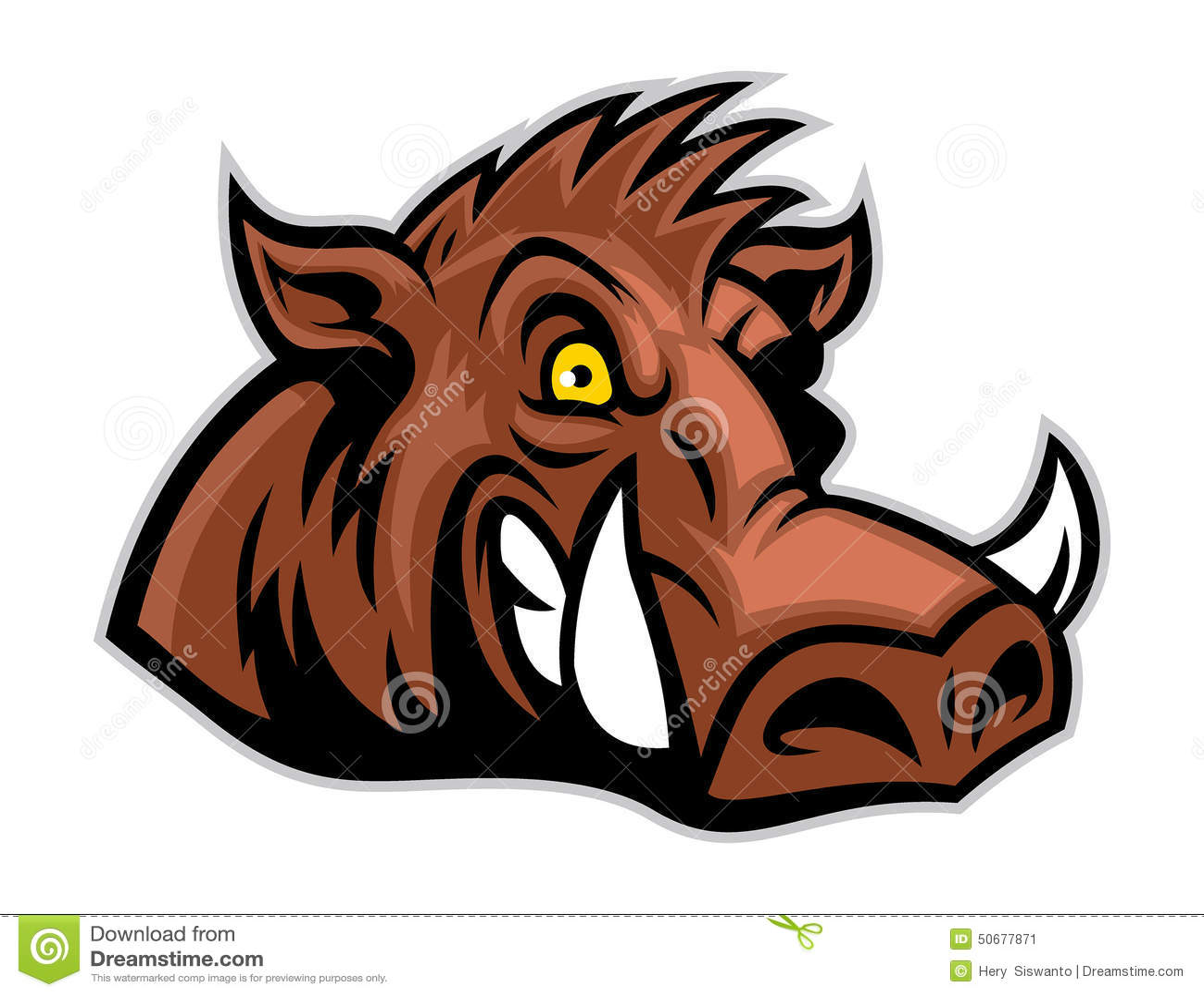 Download 狂放的肉猪头 向量例证. 插画 包括有 学院, 骄傲, 艺术, 力量, 小组, 勇气, 敌意, 吉祥人, 灰色 - 50677871