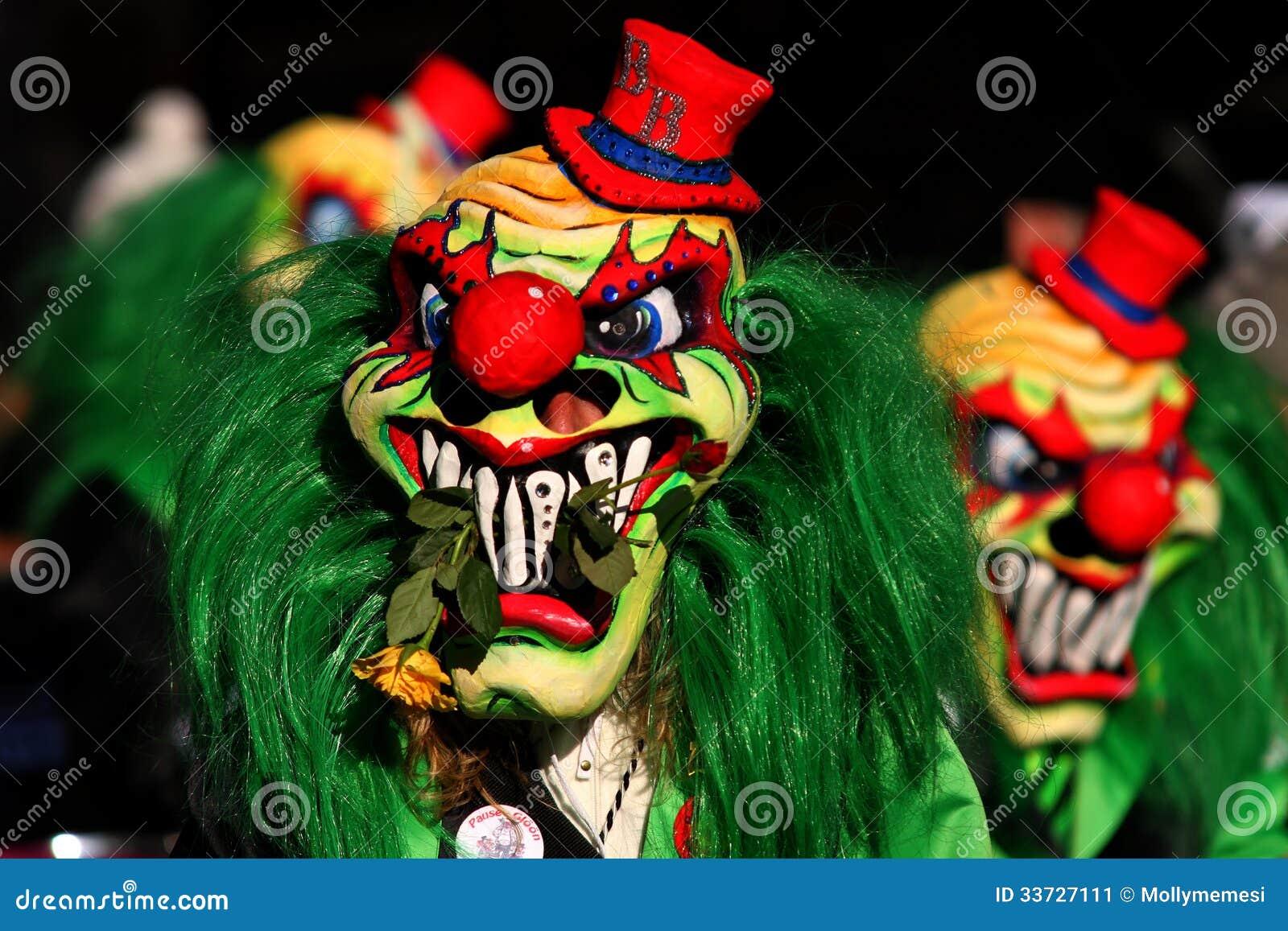 狂欢节小丑