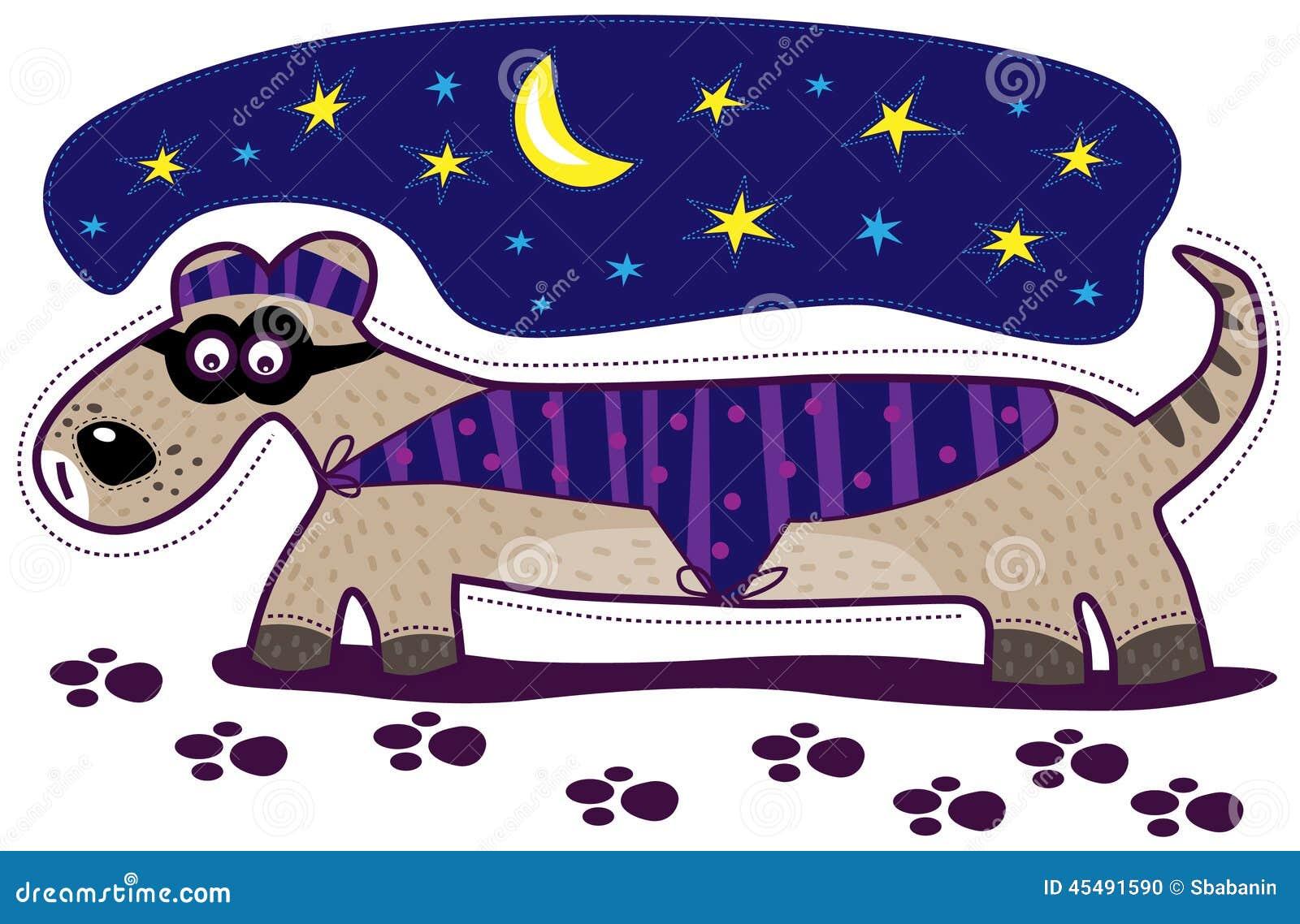 狗探员和月亮