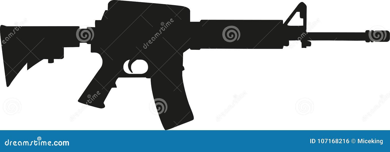 狙击步枪剪影