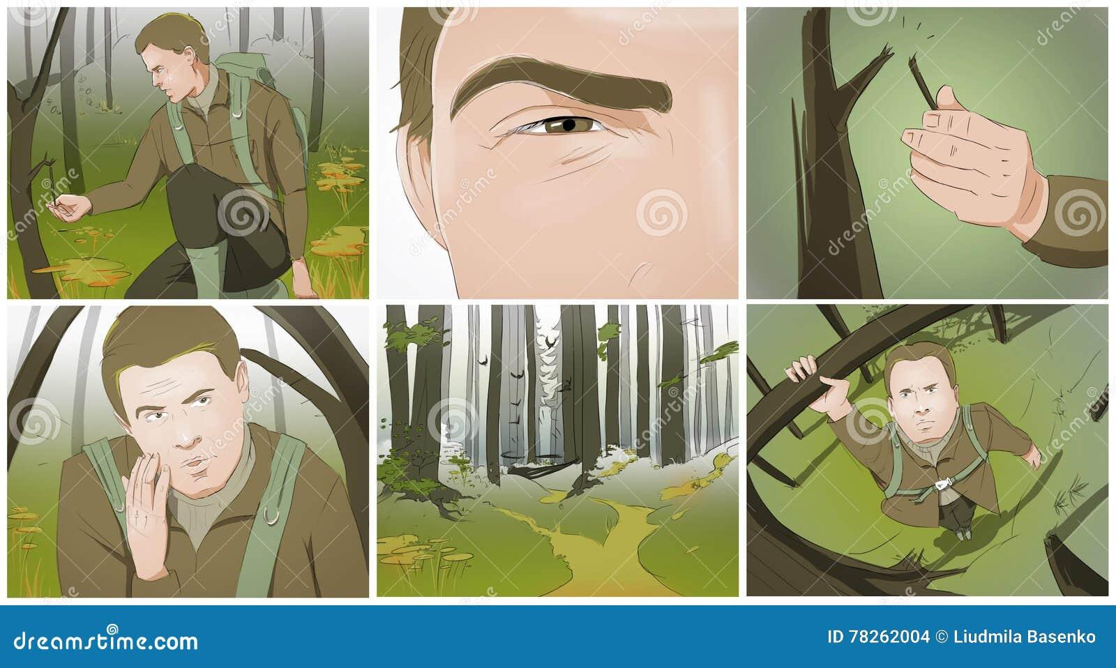 狩猎故事板
