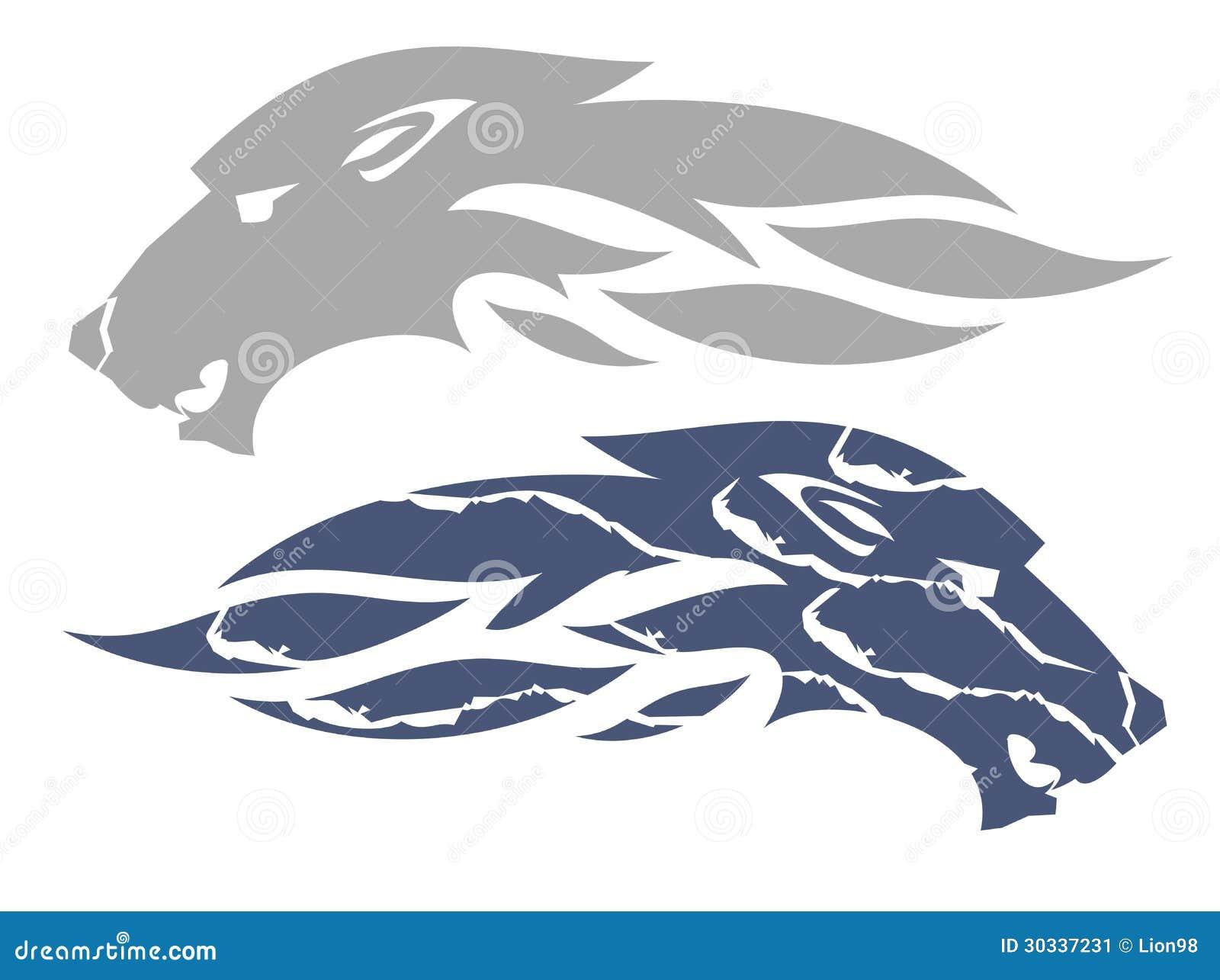 狼火焰标志