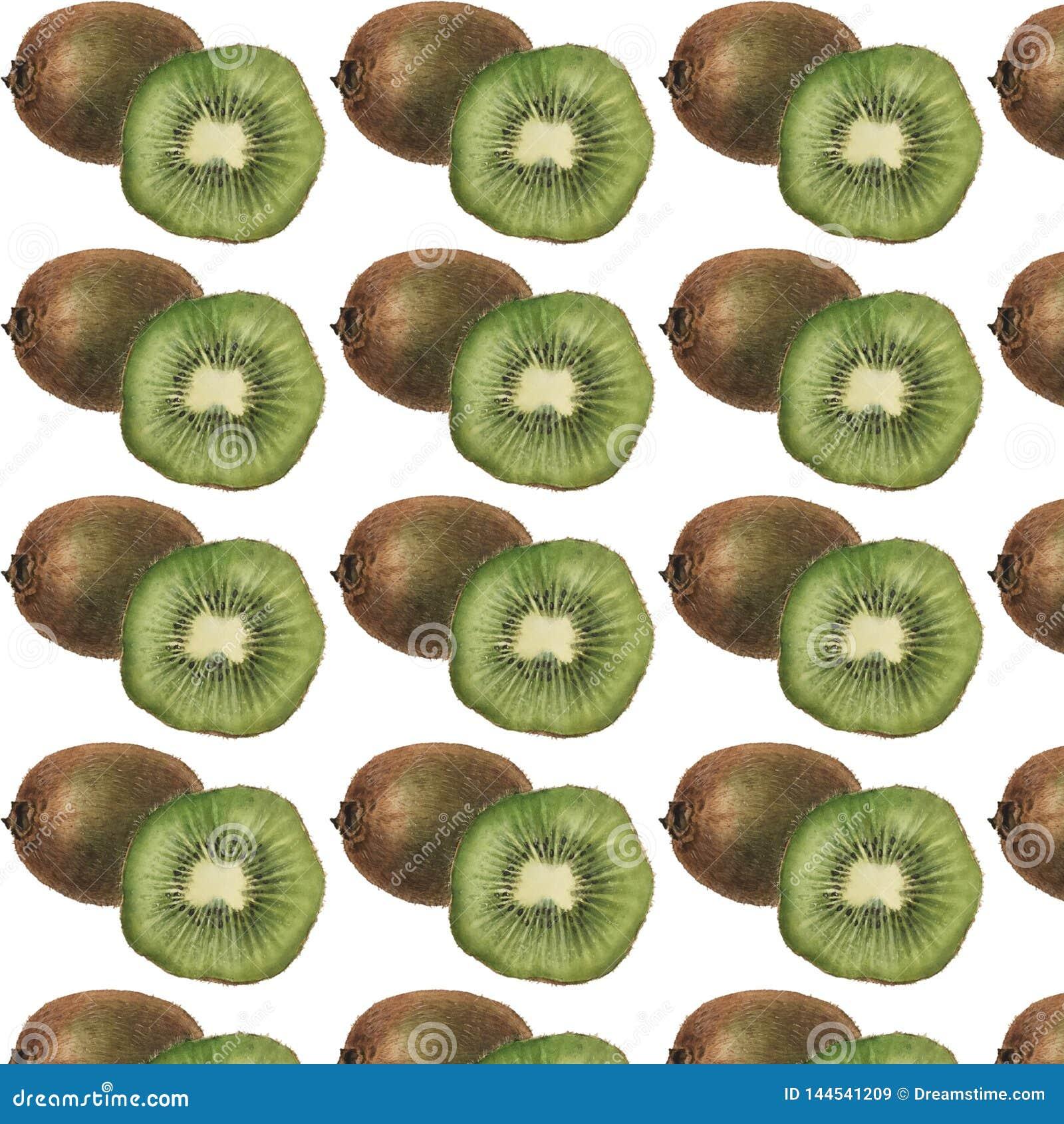 猕猴桃和一半样式