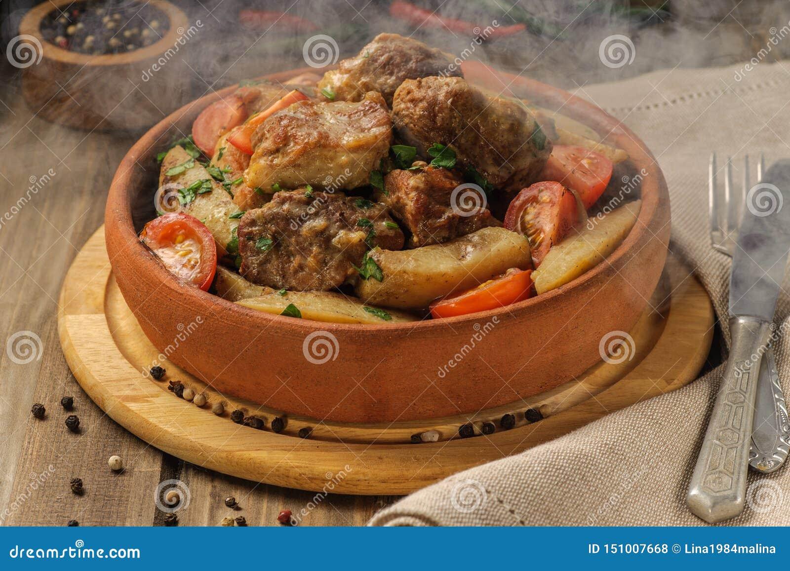 猪肉和土豆