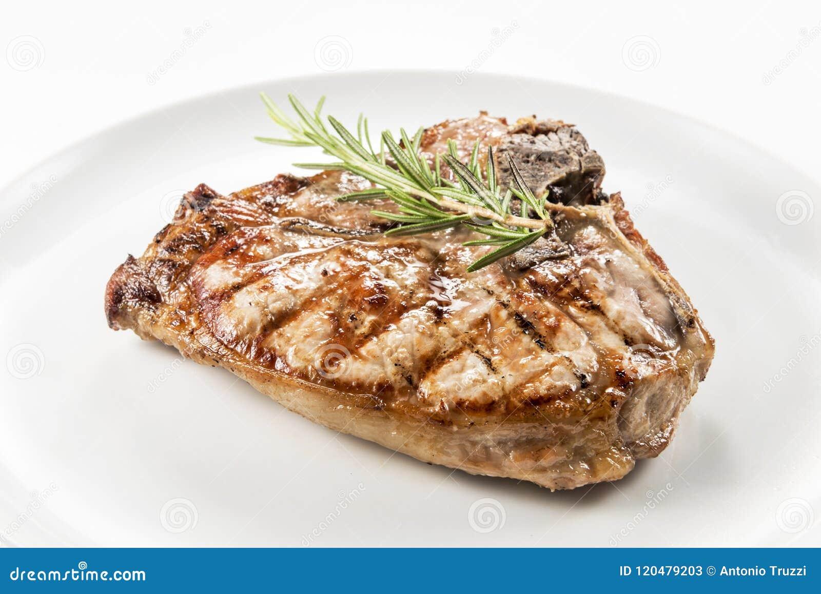 猪肉烤丁骨牛排剁