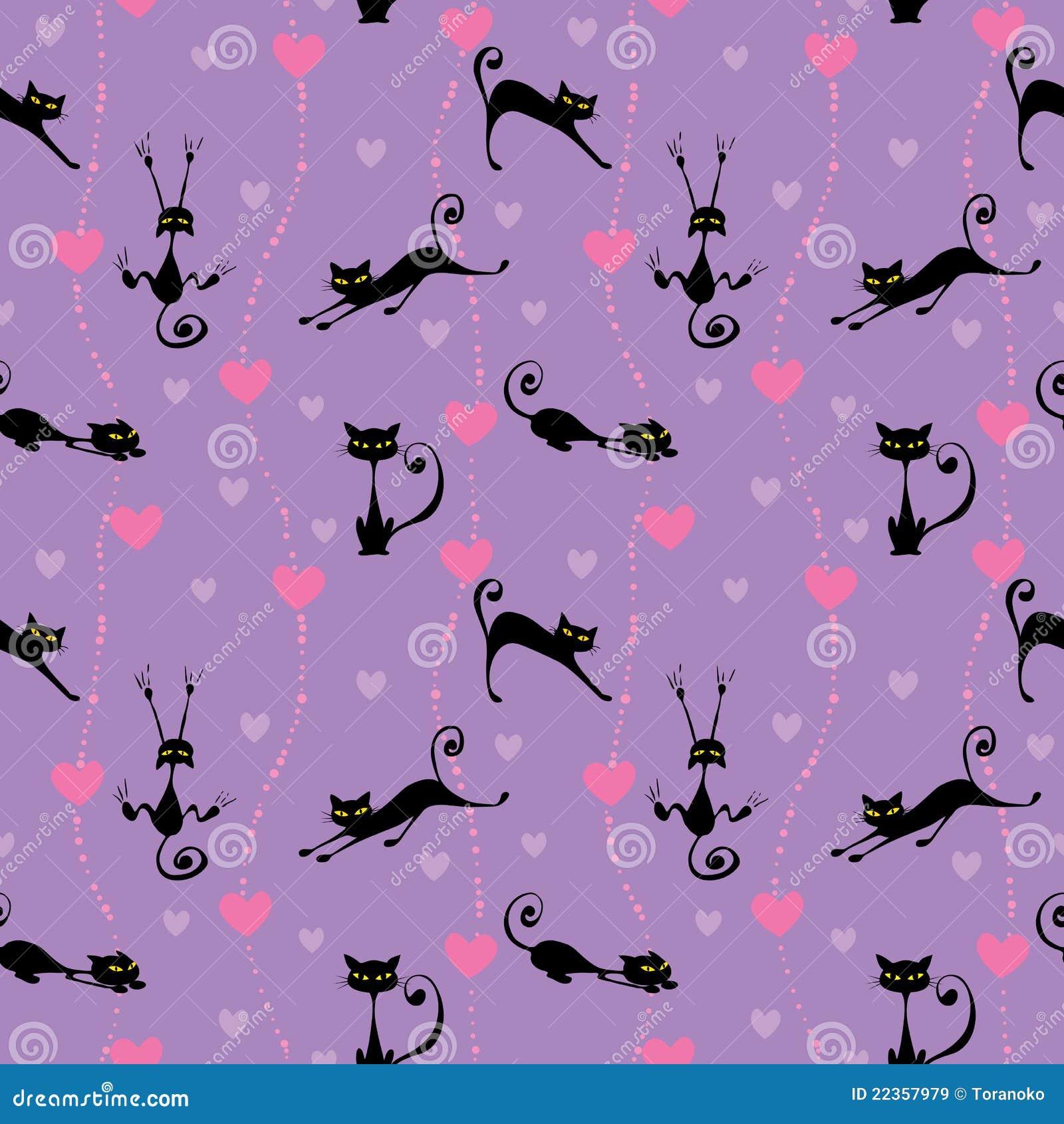 猫逗人喜爱的模式
