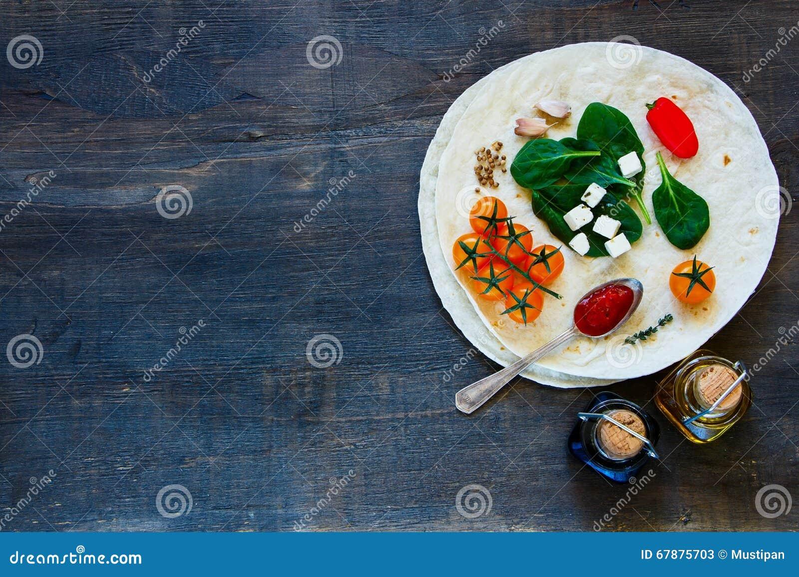 玉米粉薄烙饼舱内甲板和菜
