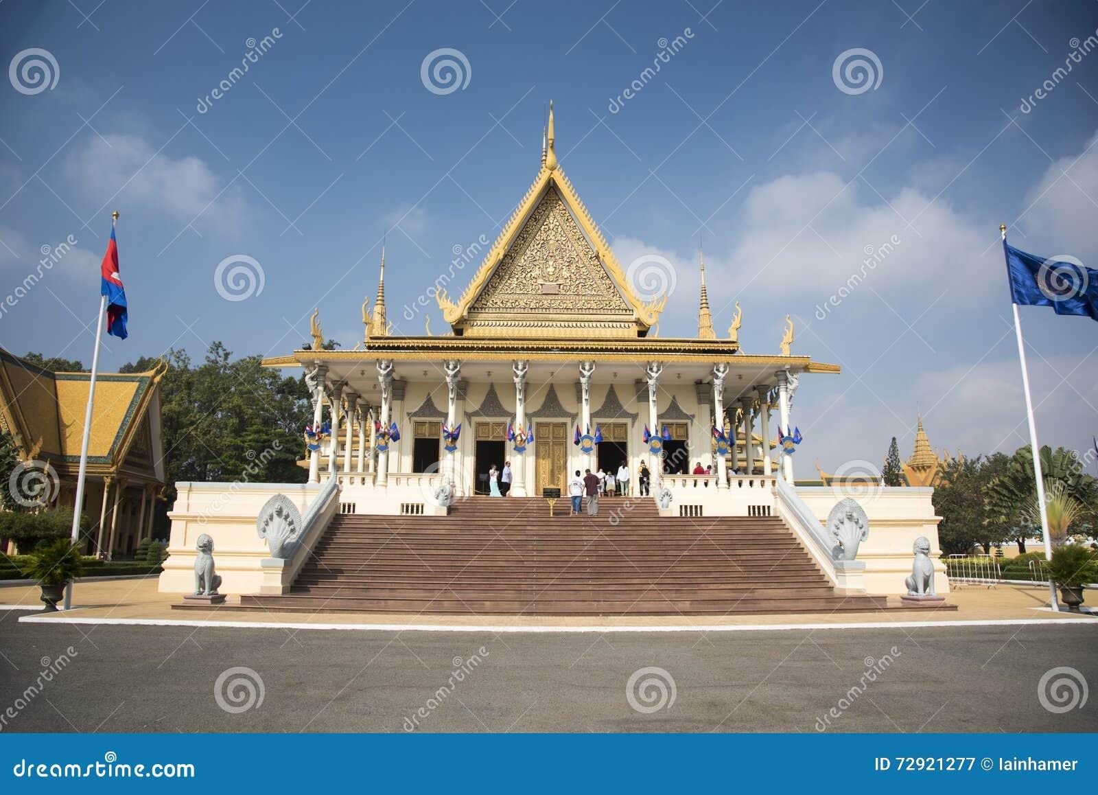 王宫金边柬埔寨
