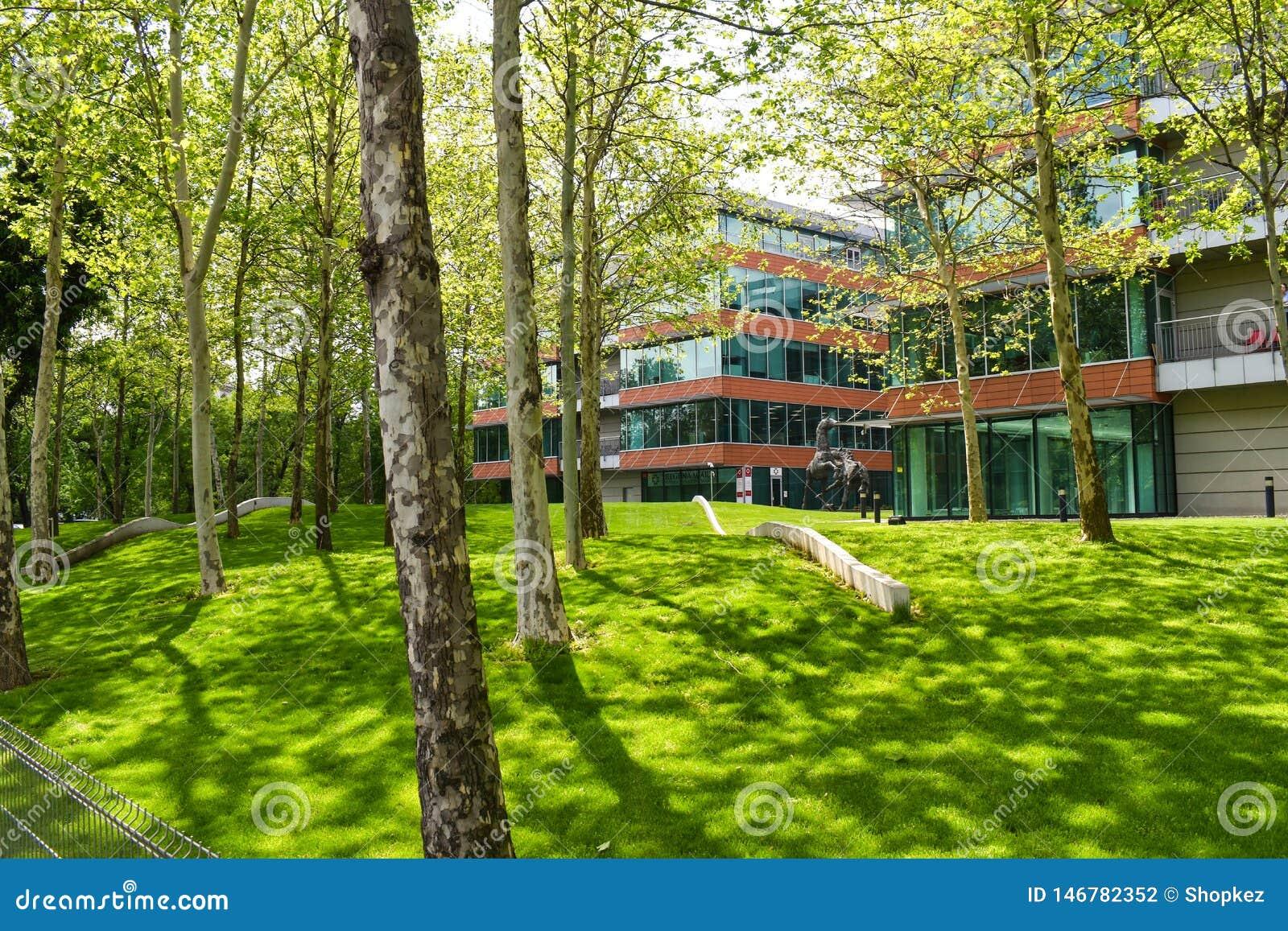 玛莉医院-布加勒斯特,罗马尼亚- 04 05 2019?