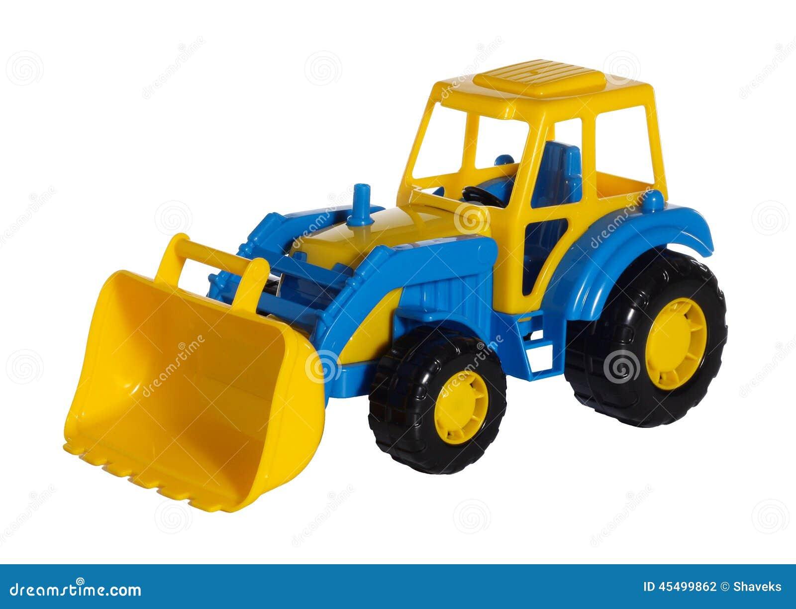 玩具拖拉机推土机