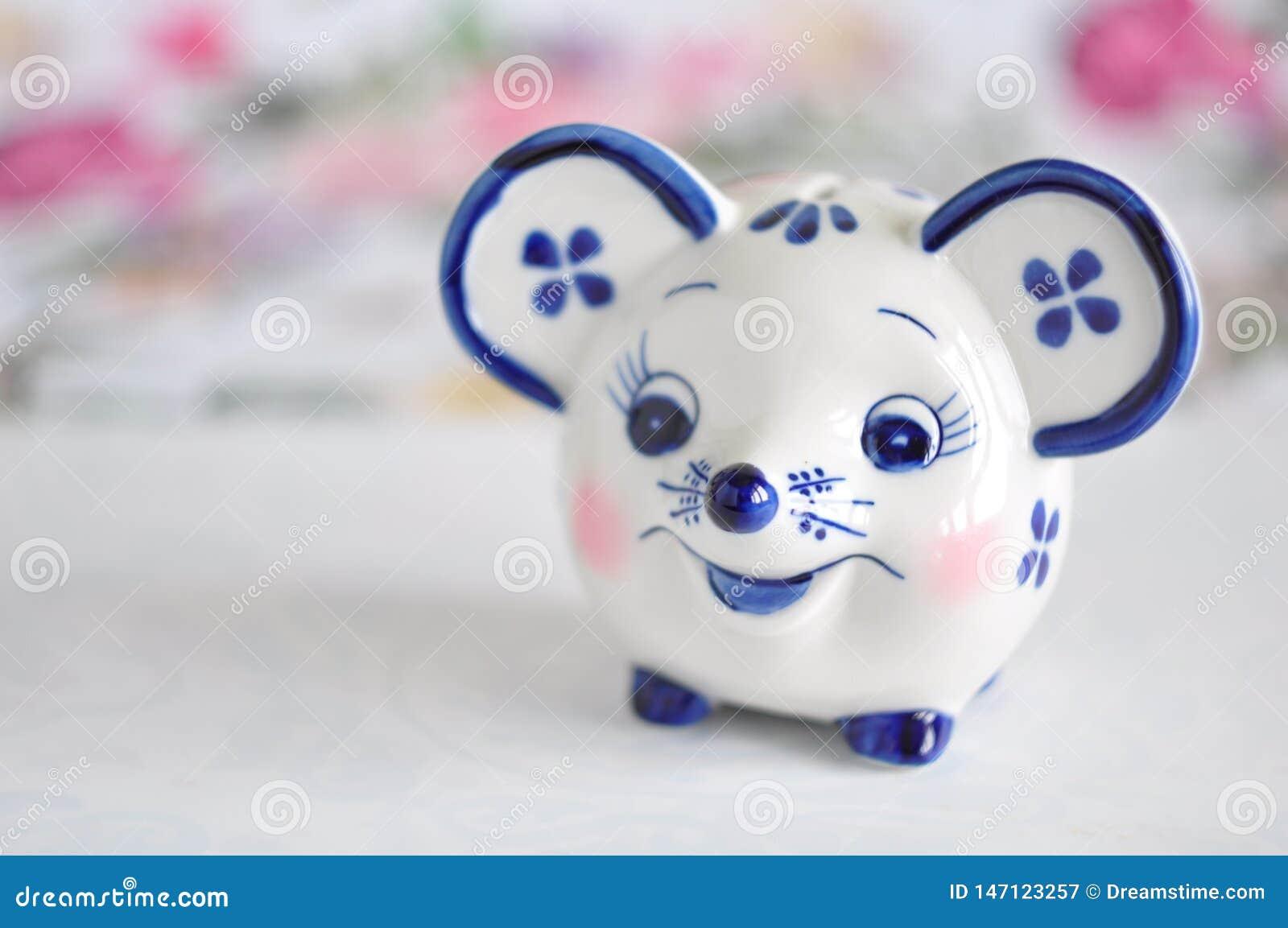 玩具moneybank Gzhel