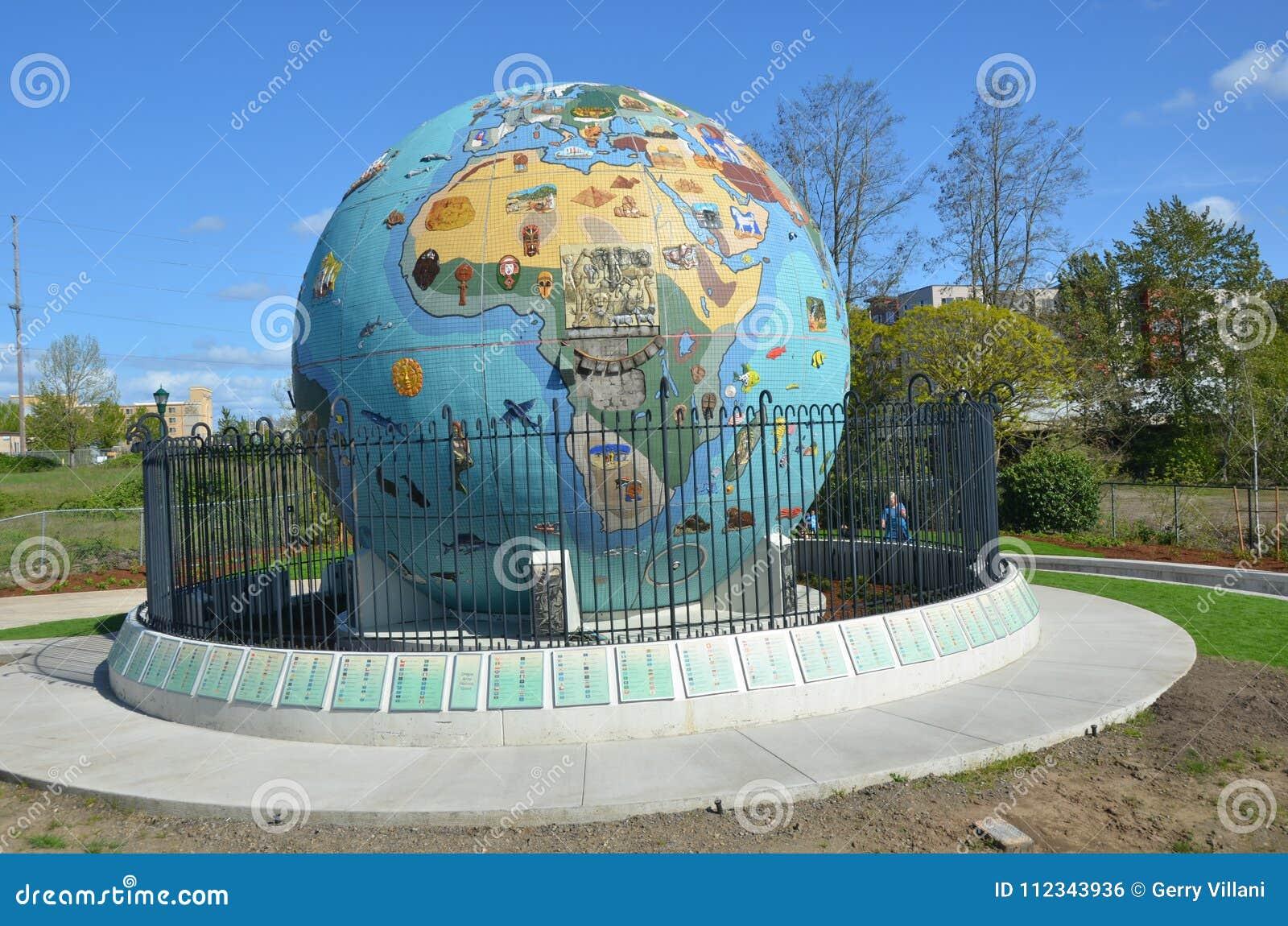 环境地球地球在萨利姆,俄勒冈图象2