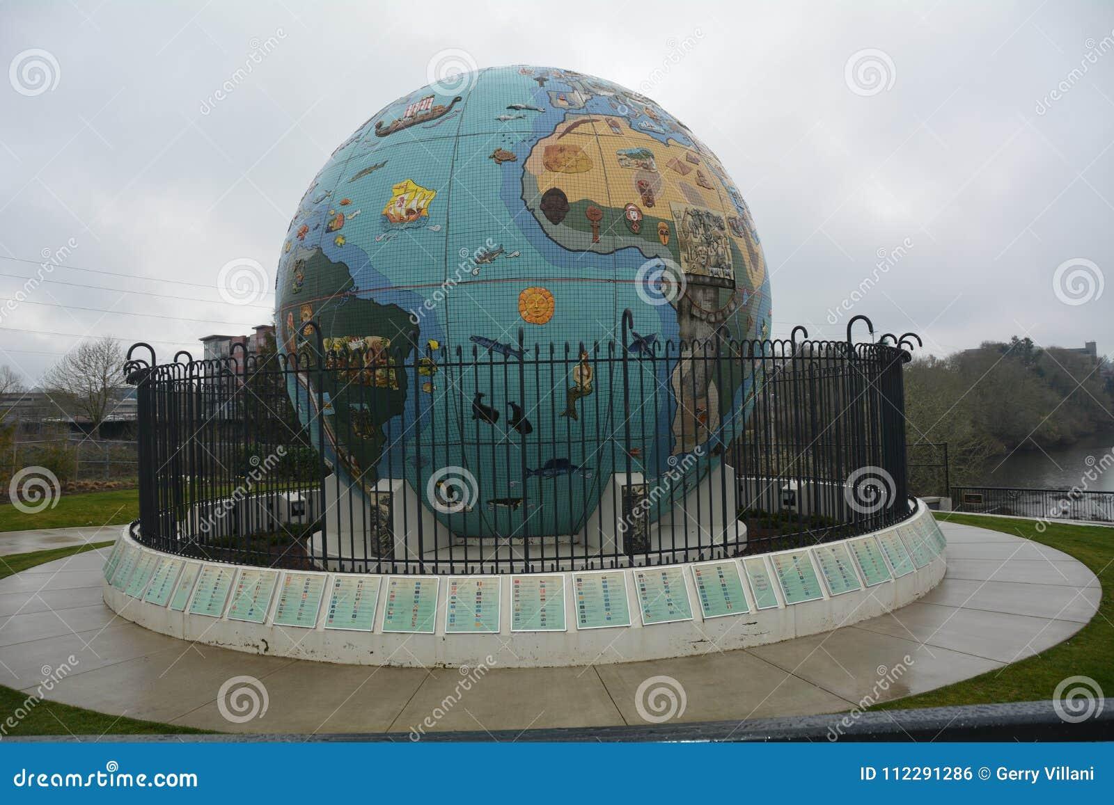 环境地球地球在萨利姆,俄勒冈