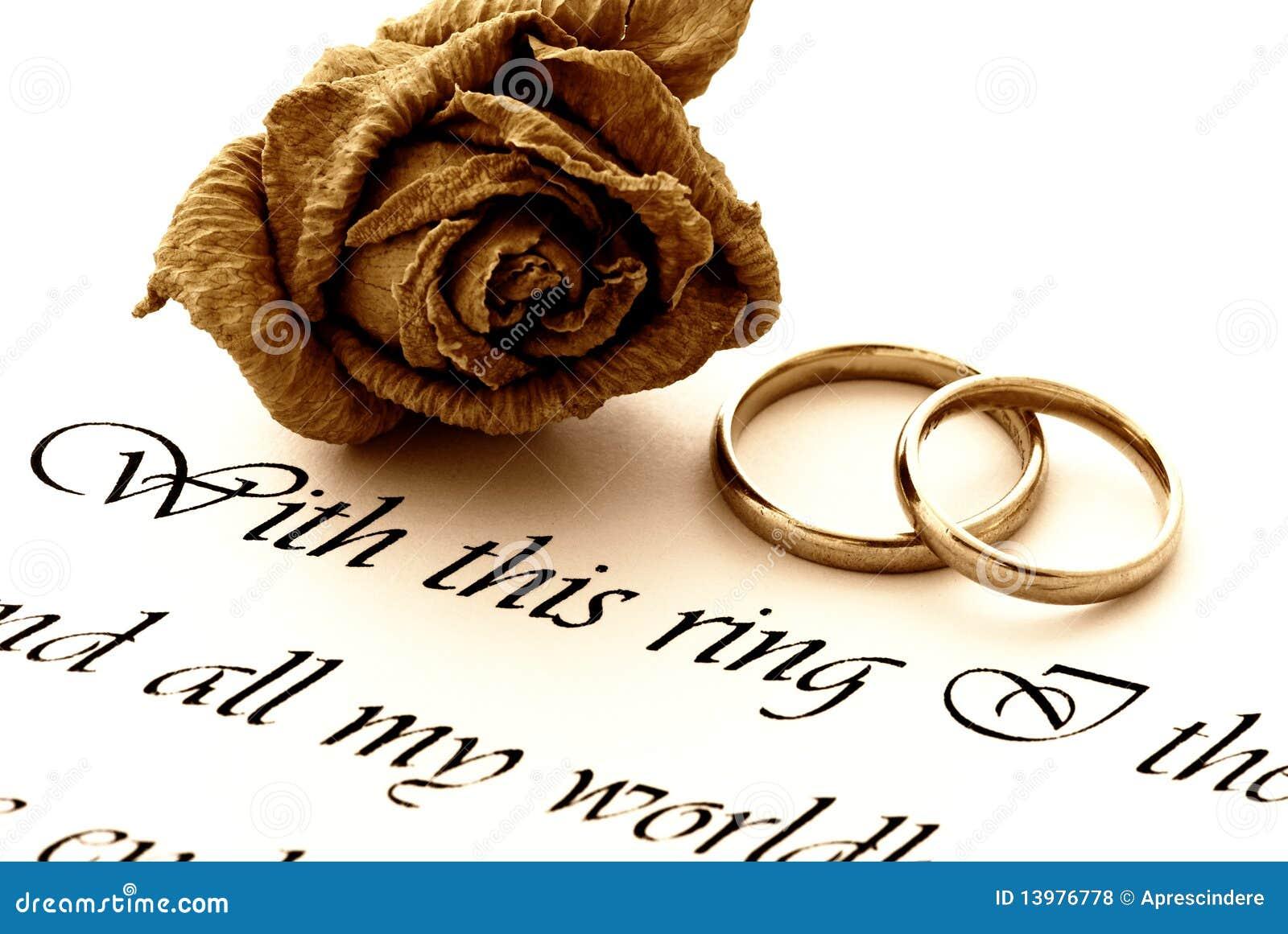 环形玫瑰誓愿婚礼