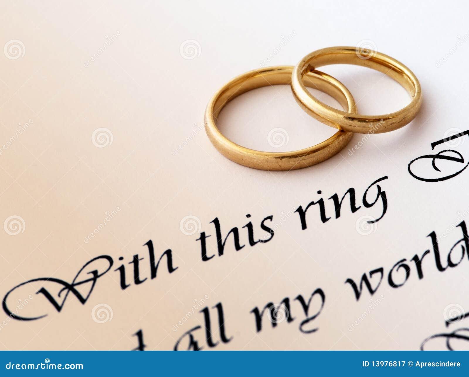 环形誓愿婚礼
