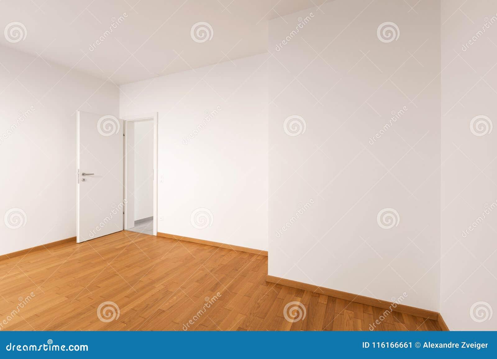 现代公寓,空的室内部