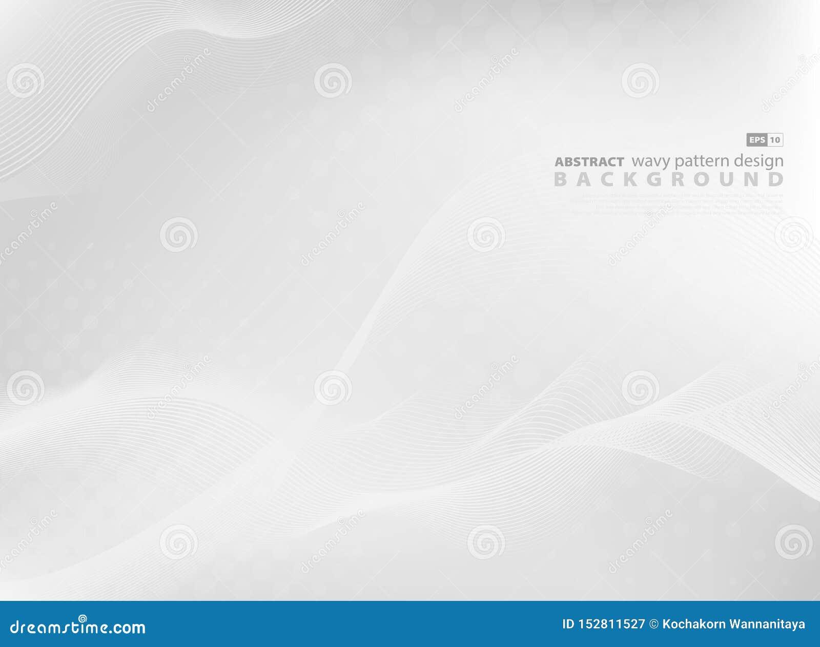 现代技术摘要灰色波浪样式设计背景  r