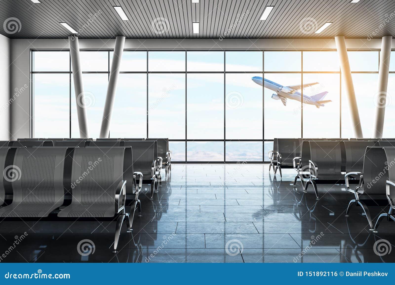 现代机场休息室
