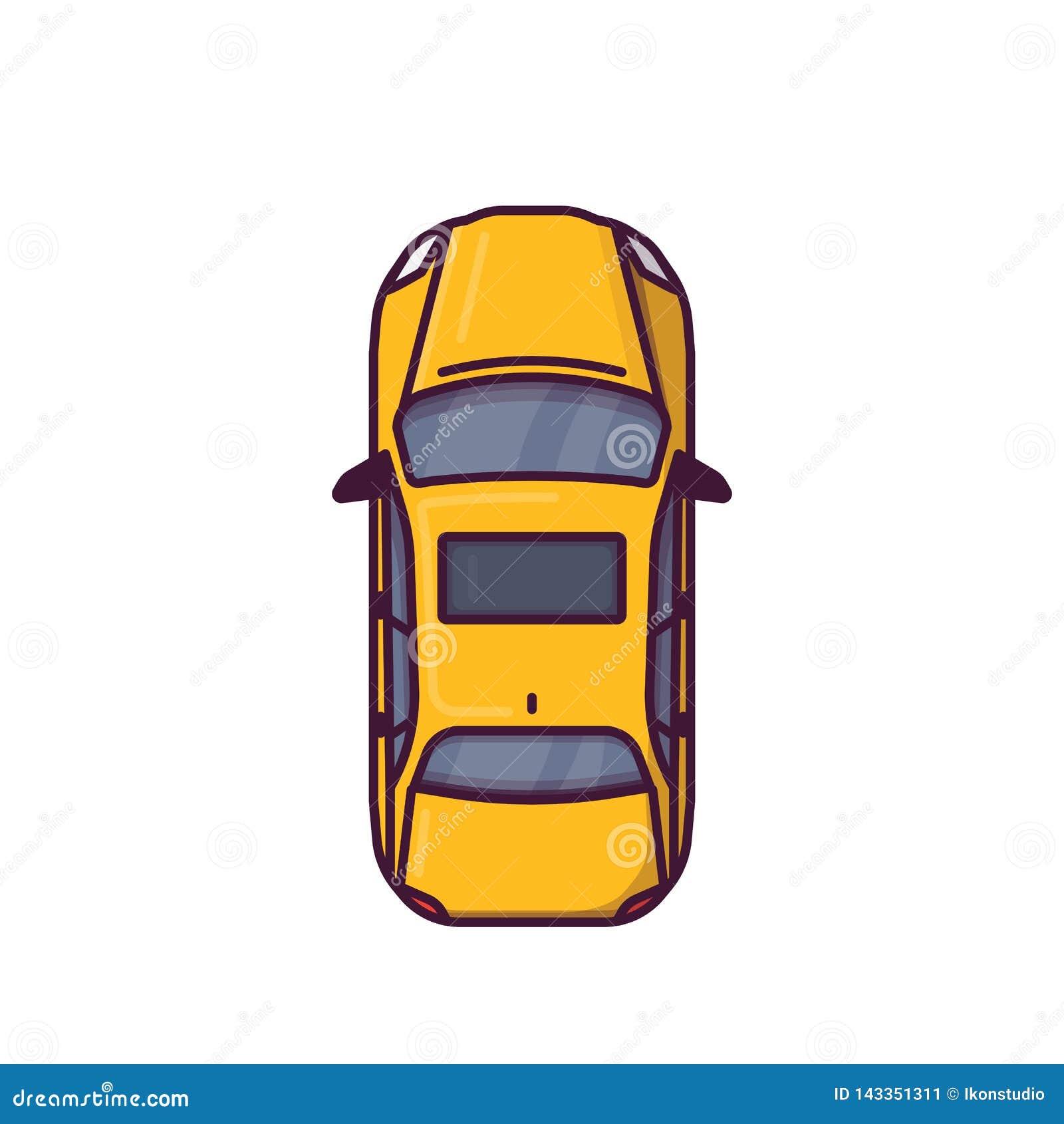 现代汽车顶视图