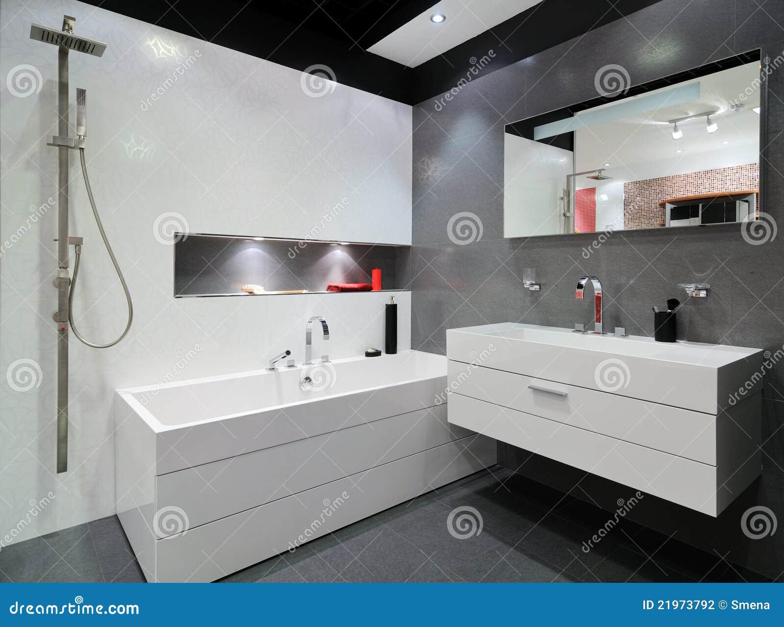 现代灰色卫生间