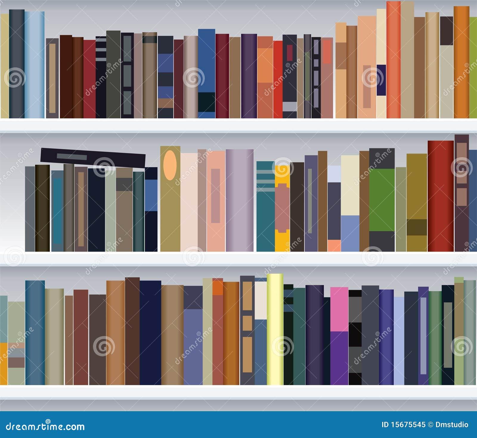 现代的书架